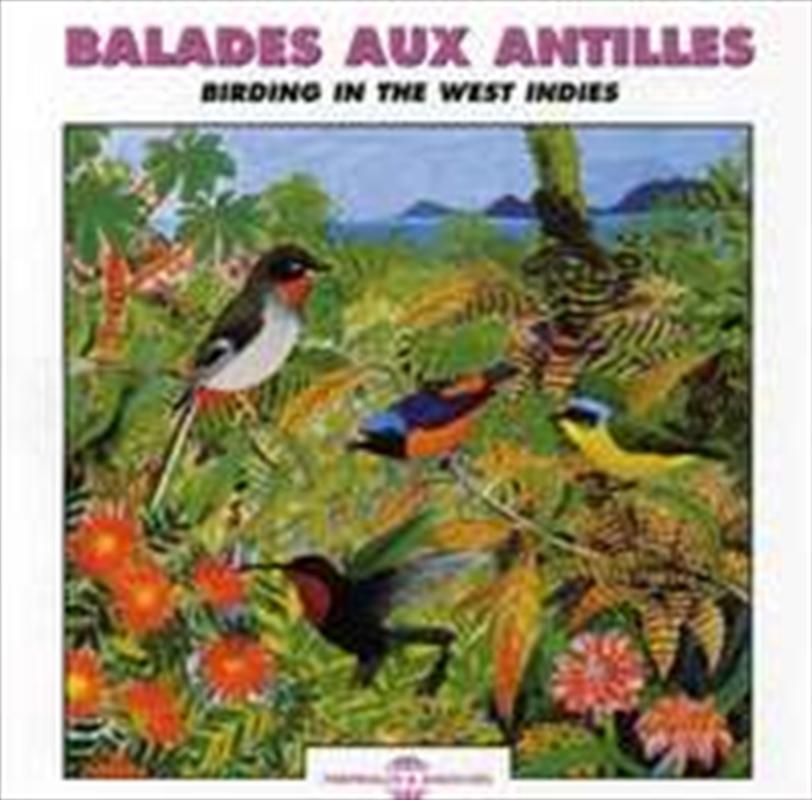 Birding In The West Indies | CD