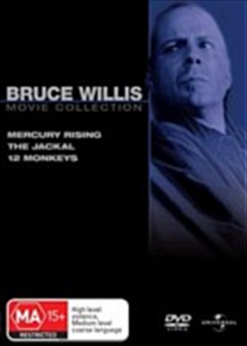 Bruce Willis Icon Collection Action, DVD | Sanity Bruce Willis Movies List