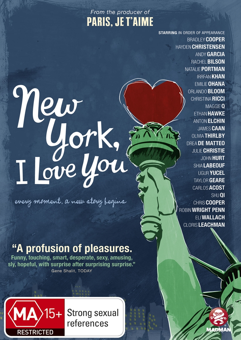 New York I Love You | DVD