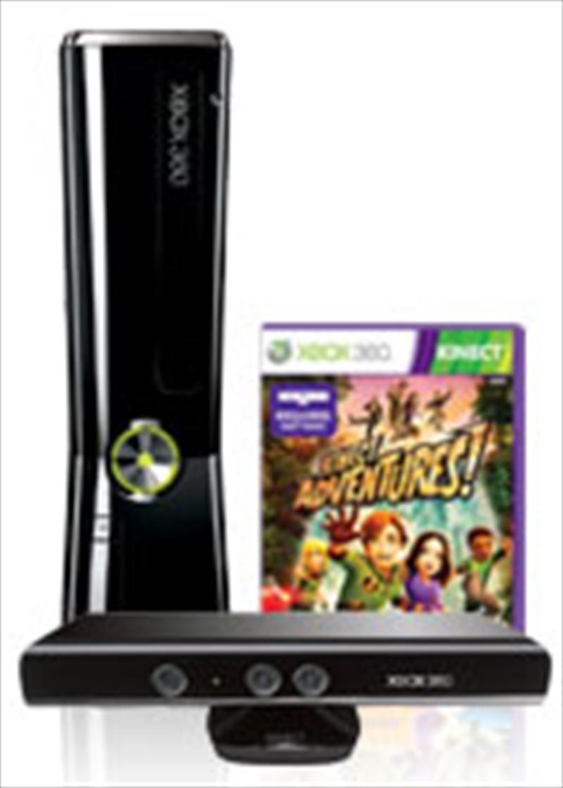 Xbox 360 4GB Kinect Console Bundle Accessories, XBox 360