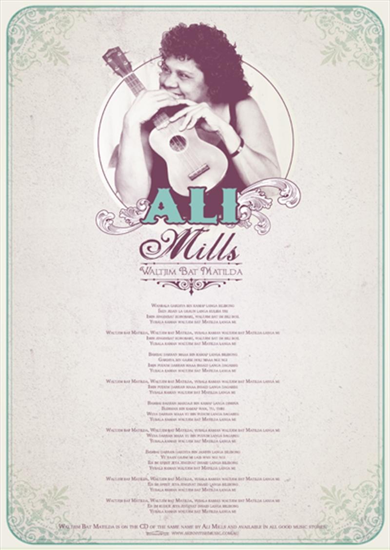 Ali Mills Tea Towel | Merchandise