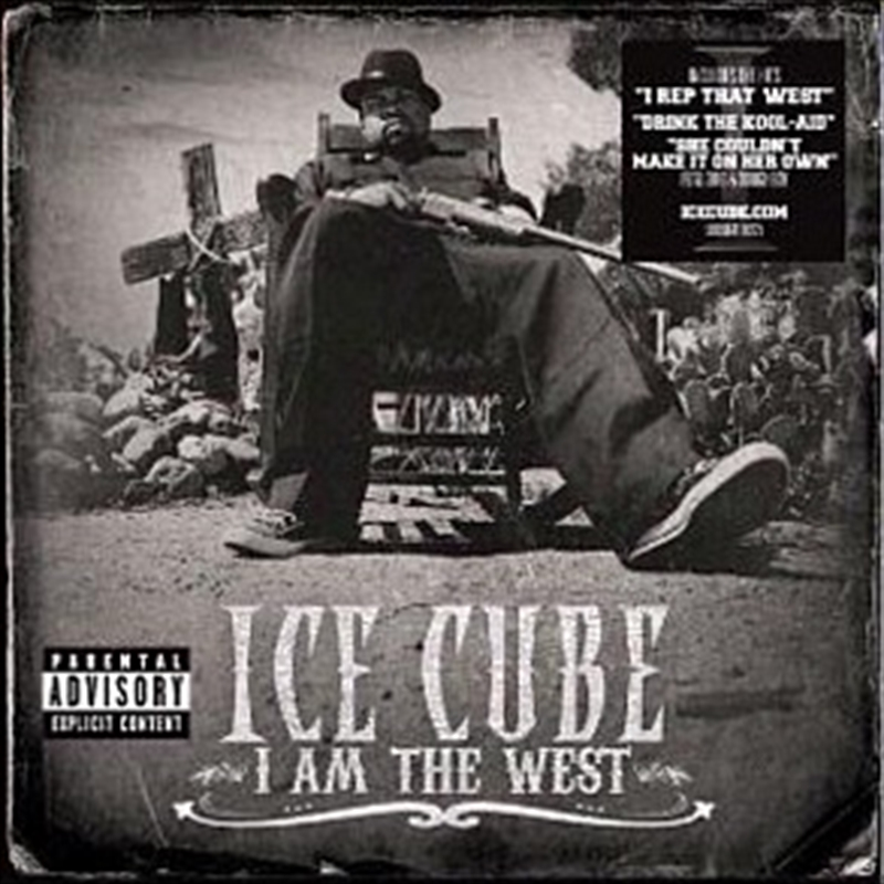 I Am The West | CD