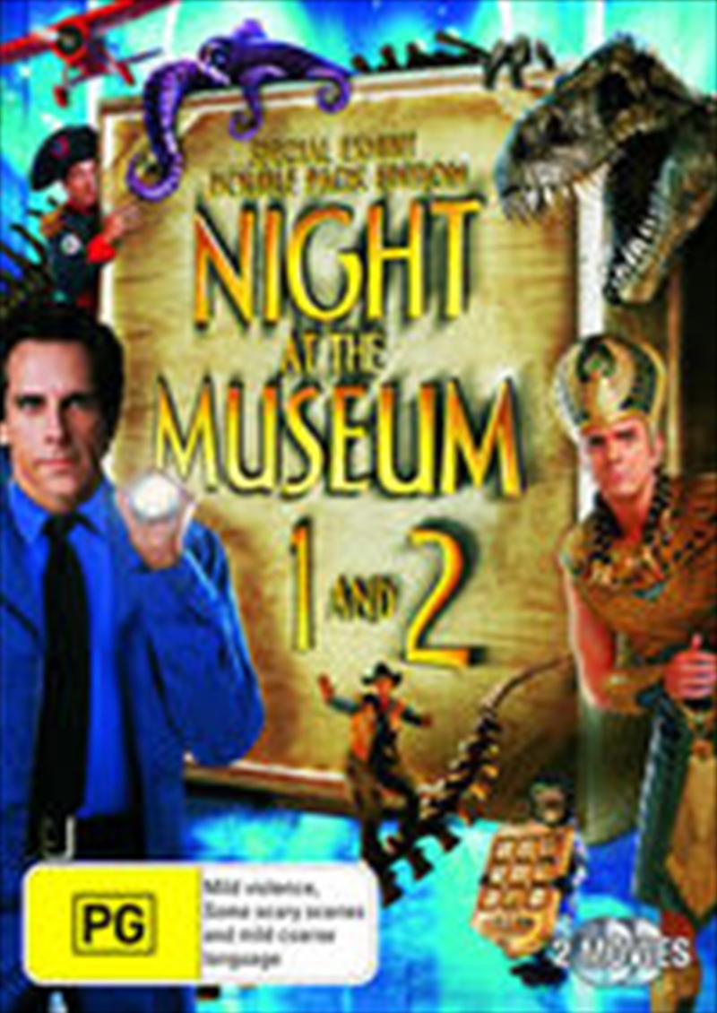Night At The Museum 1 And 2 | DVD