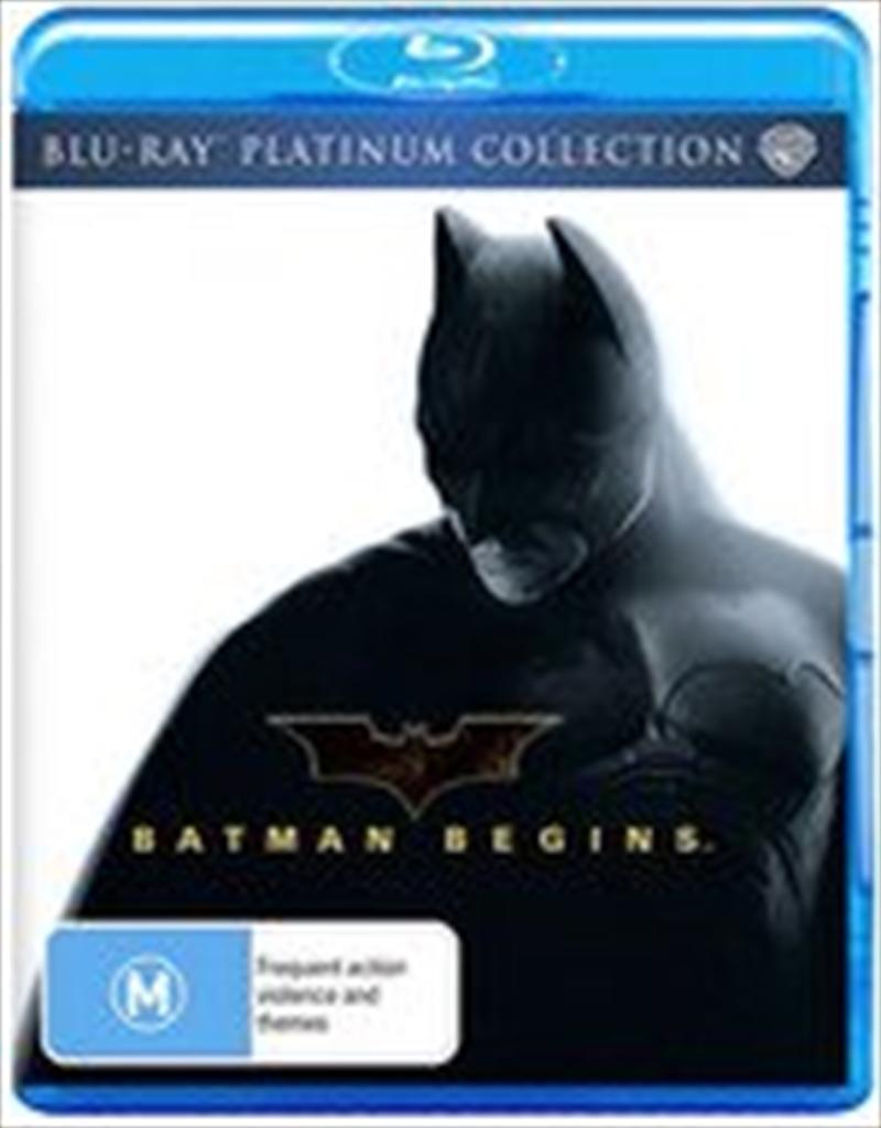 Batman Begins (Platinum Collection)   Blu-ray