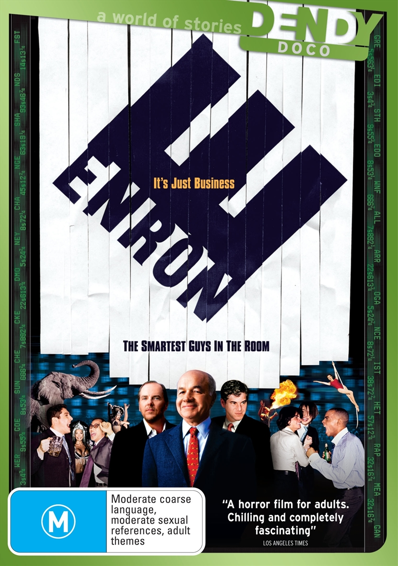 the smartest guys in the room Free essay: enron: the smartest guys in the room the enron scandal, revealed in october 2001, eventually led to the bankruptcy of the enron corporation, an.