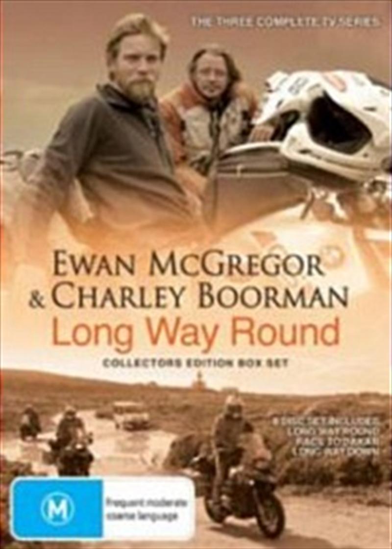 Long Way Round Collectors Edition ABC BBC DVD