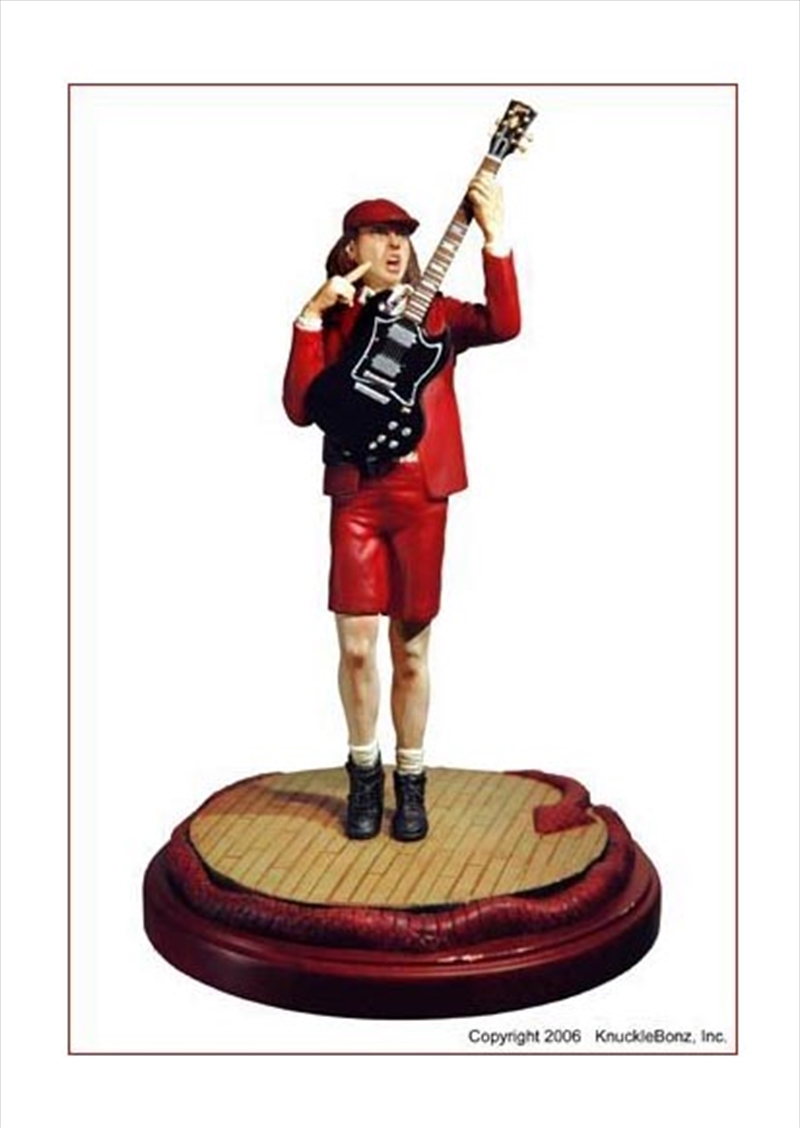 Angus Young Statue Figurines Amp Statues Merchandise Sanity