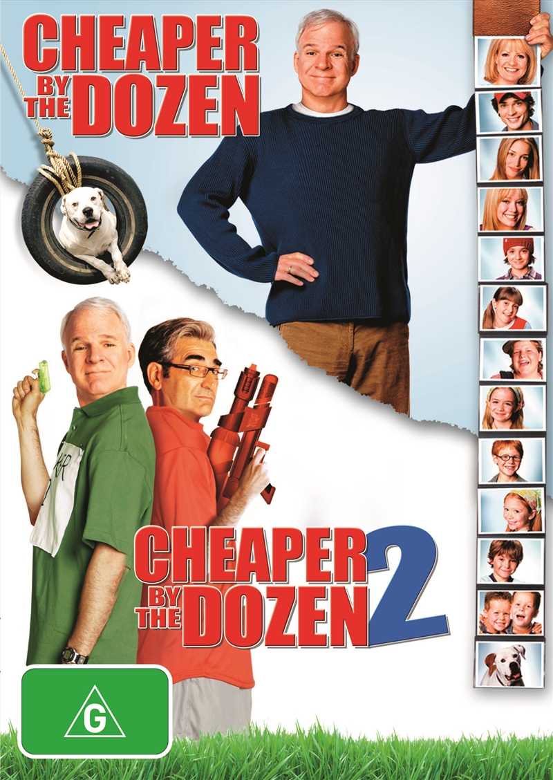 Buy Cheaper By The Dozen 1 And 2 on DVD | Sanity