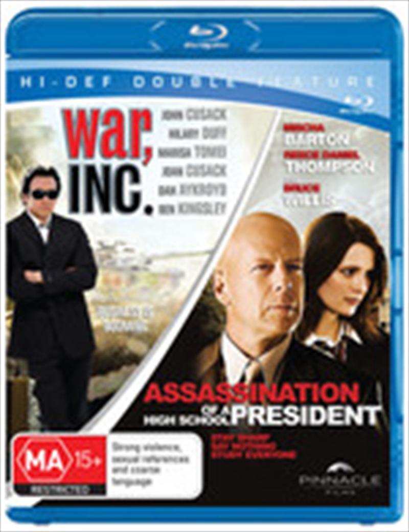 War Inc / Assassination Of A High School President | Blu-ray