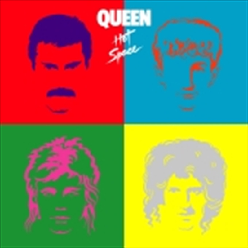 Hot Space | CD
