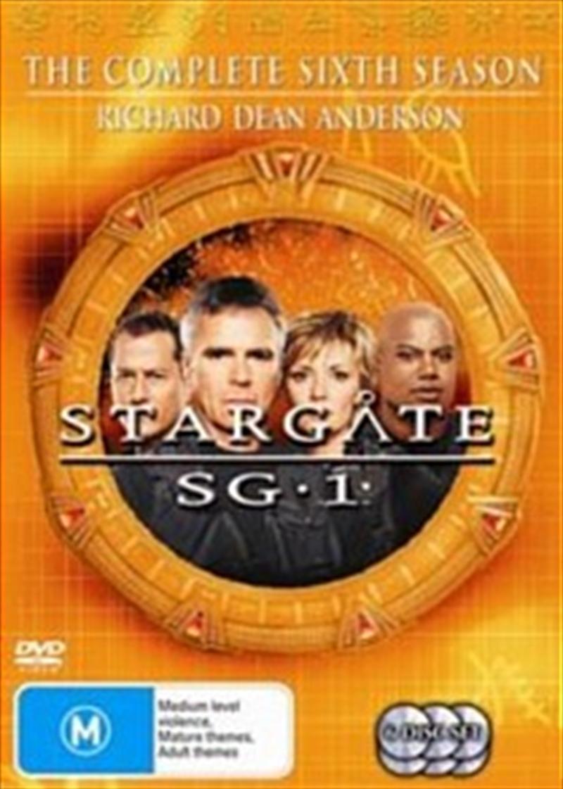 Stargate SG-1; S6 | DVD