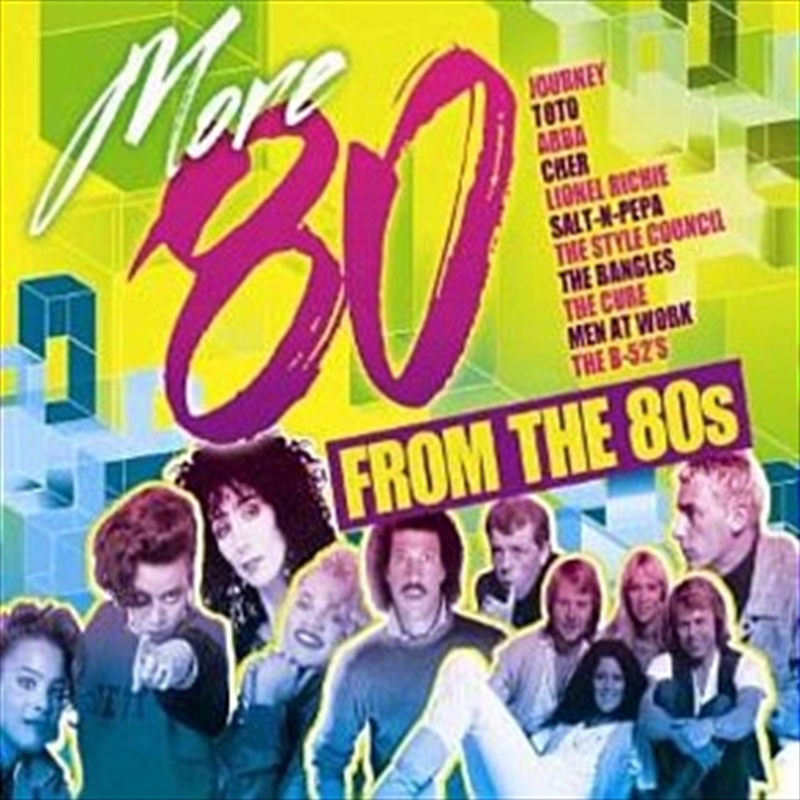 More 80 From The 80s Various Cd Sanity