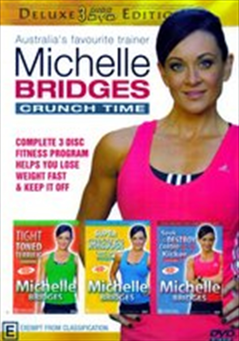 Michelle Bridges: Crunchtime Triple Pack | DVD