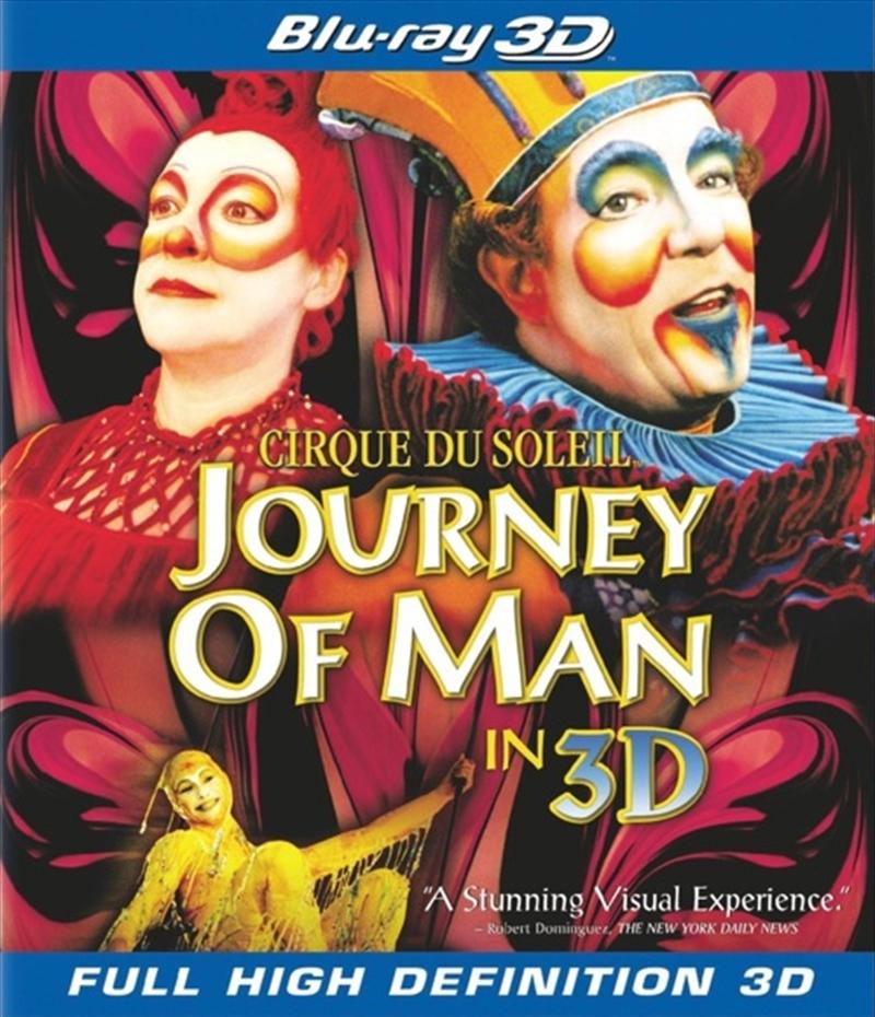 Buy Cirque Du Soleil Presents Journey Of Man | Sanity