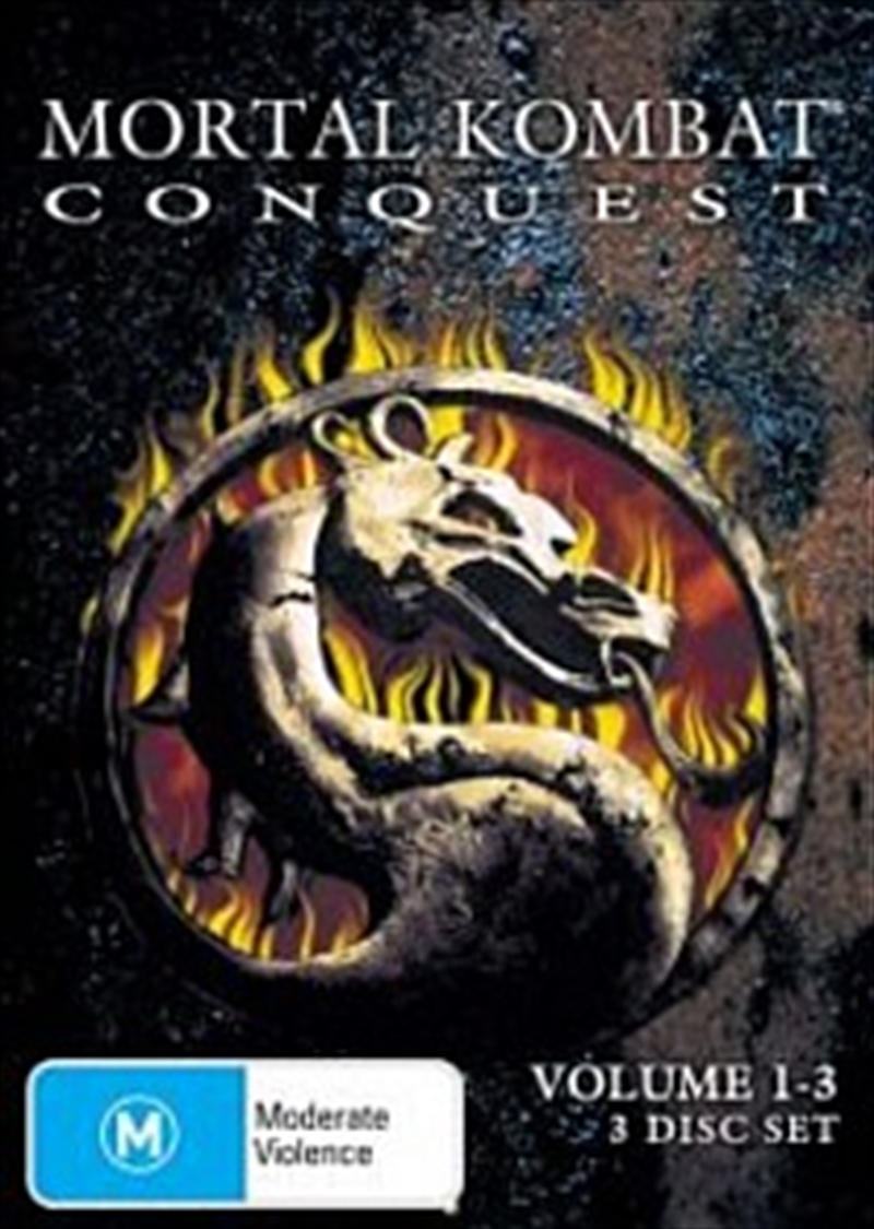 Mortal Kombat: Conquest; V1-3 | DVD