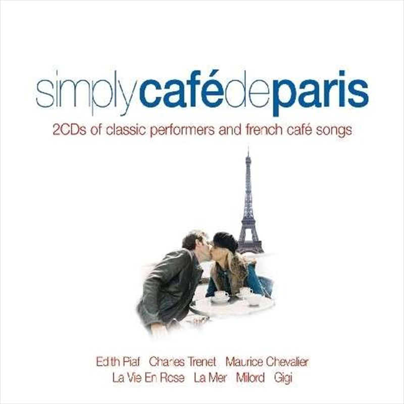 Simply Cafe De Paris | CD