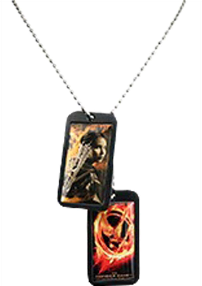 Epoxy Dog Tags Katniss   Merchandise