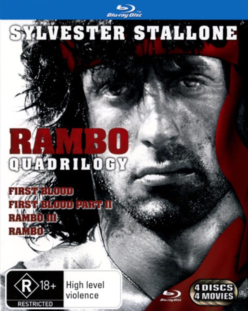 Rambo 1-4 | Blu-ray