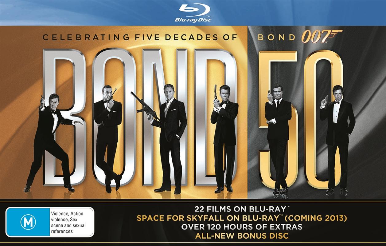 Bond 50 (007 Boxset) (BONUS KEYRING) | Blu-ray