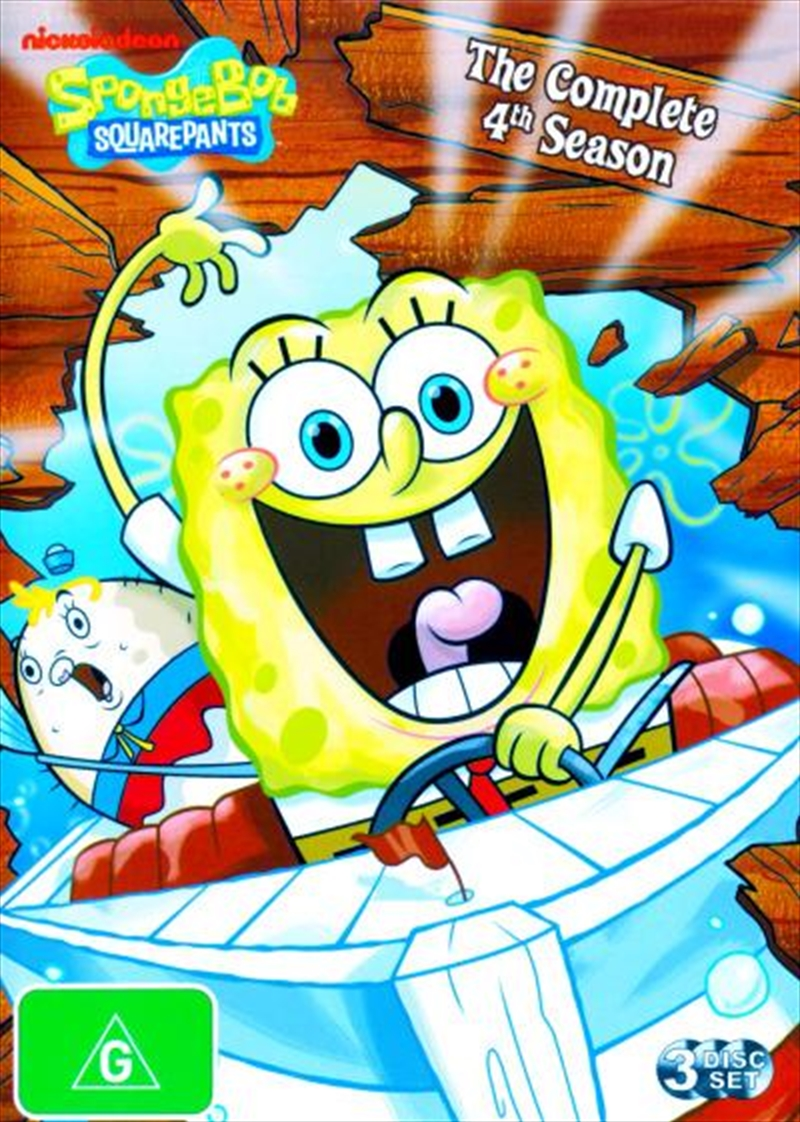 Spongebob Squarepants; S4 | DVD