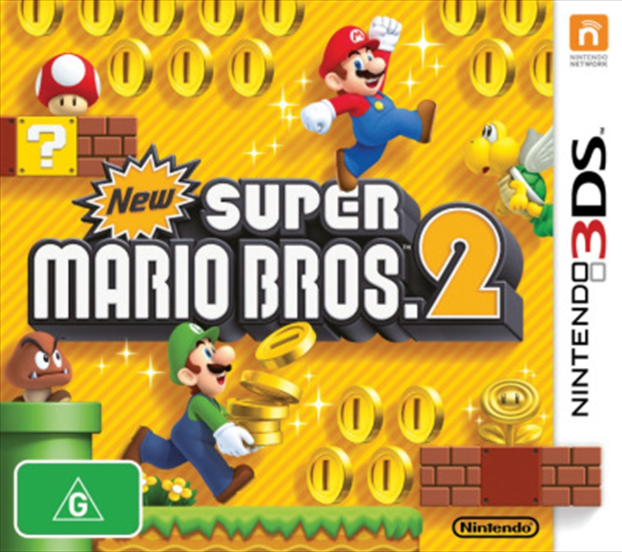 New Super Mario Bros 2 | Nintendo 3DS