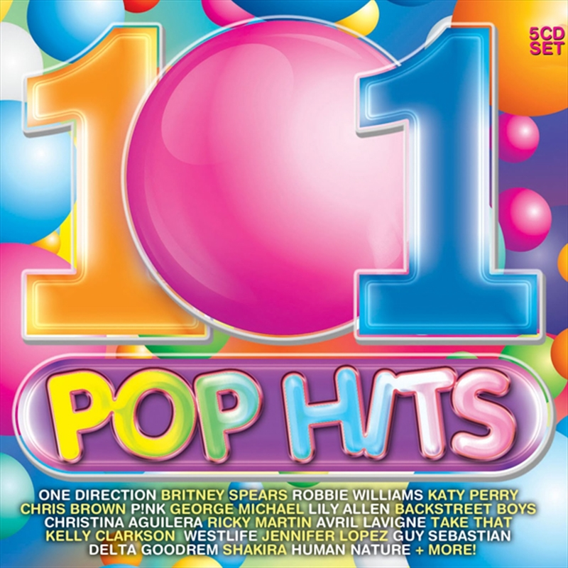 101 Pop Hits Various Cd Sanity