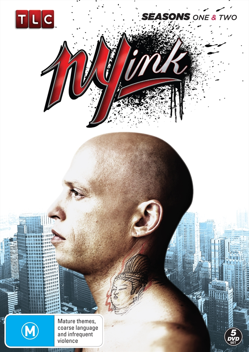 Ny Ink; S1&2 (Sanity Exclusive) | DVD