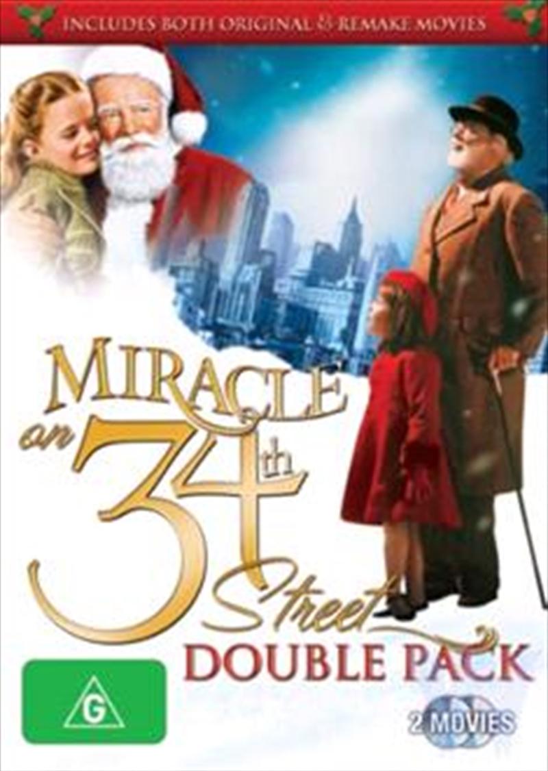 Miracle On 34th Street 1947 1994 Drama Dvd Sanity