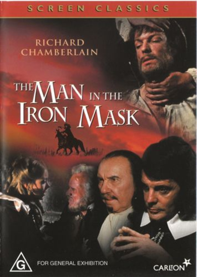 the man in the iron mask 1977 dvd