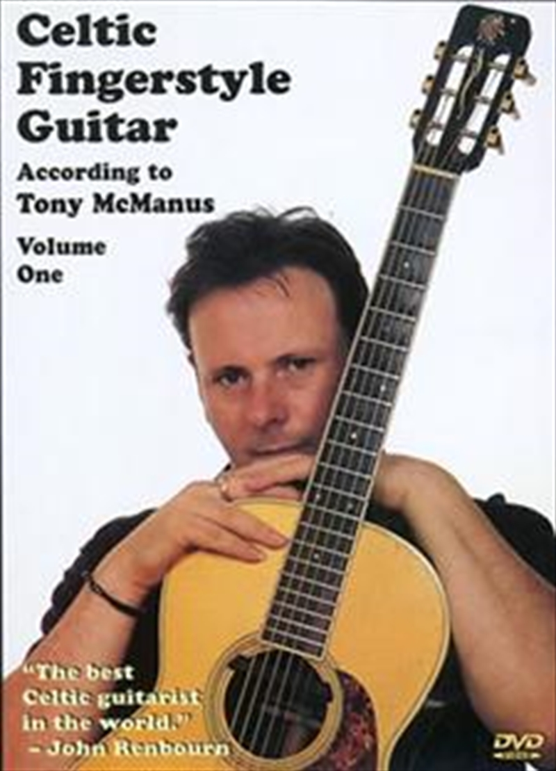 Celtic Fingerstyle Guitar According to Tony McManus: V1 | DVD