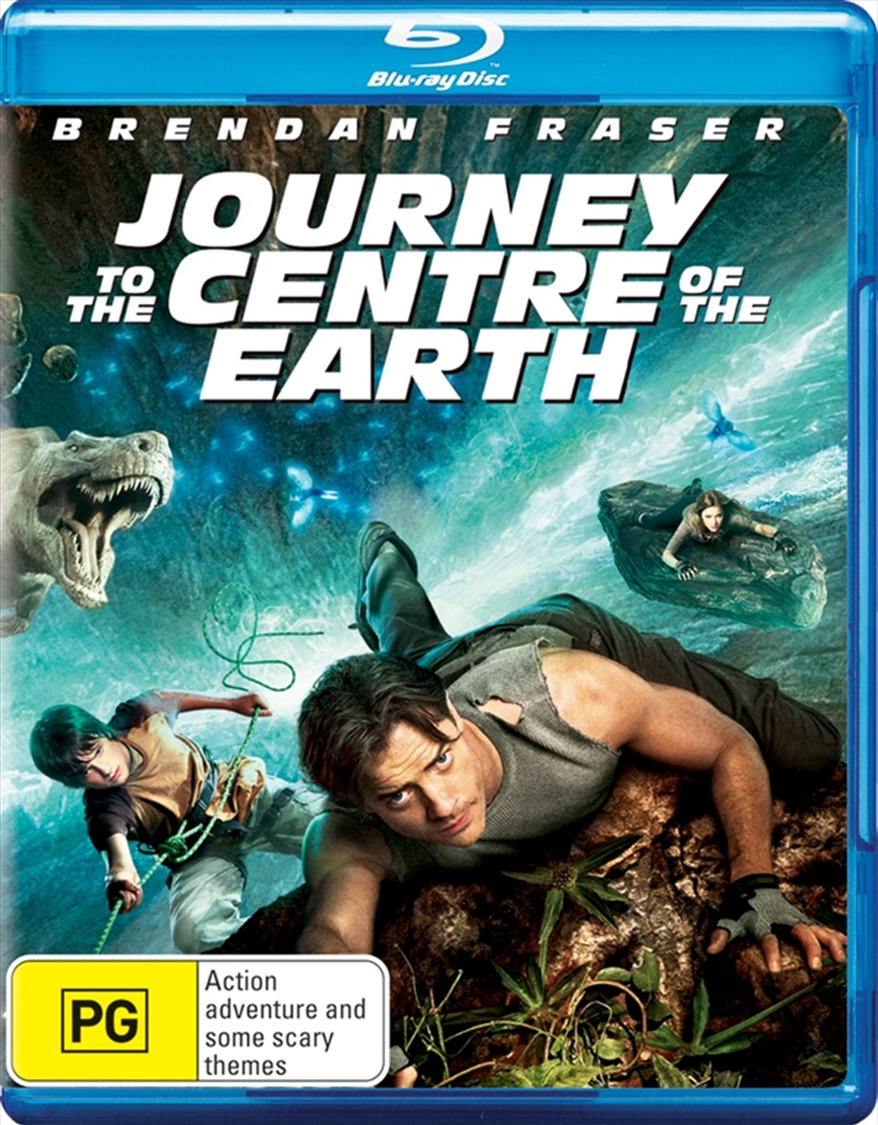 Journey To The Centre Of Earth | Blu-ray