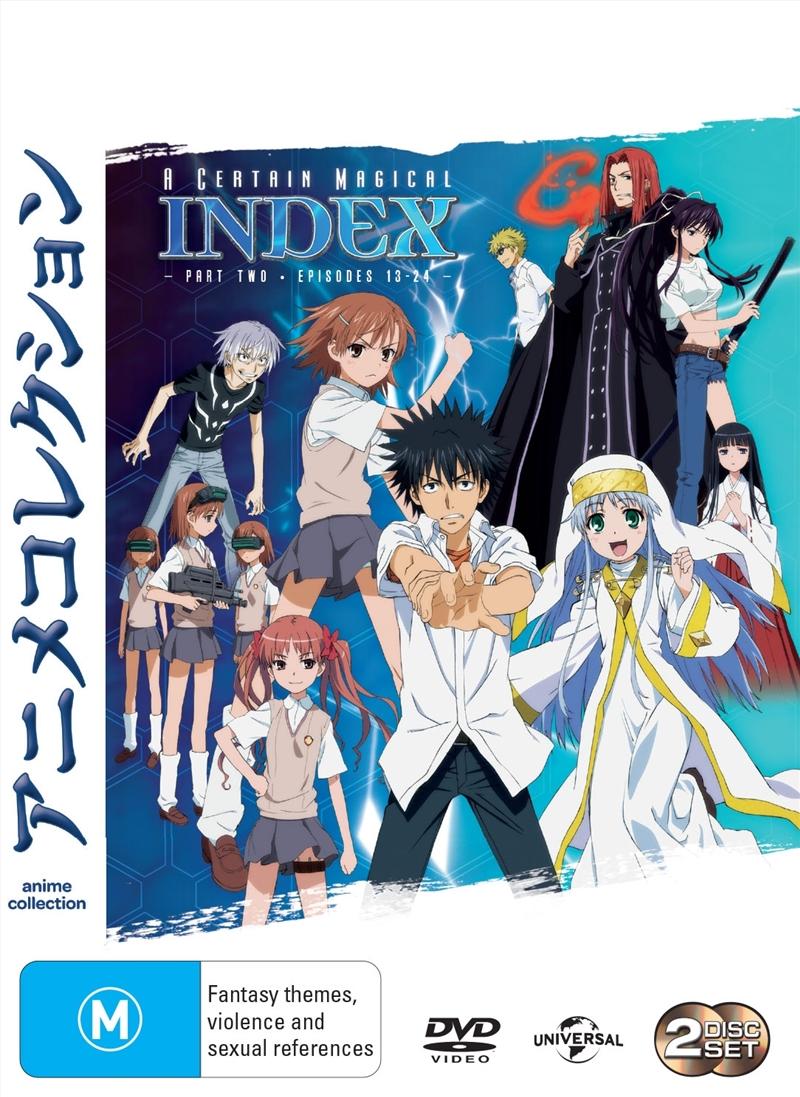 A Certain Magical Index - Season 1 - Part 2 | DVD
