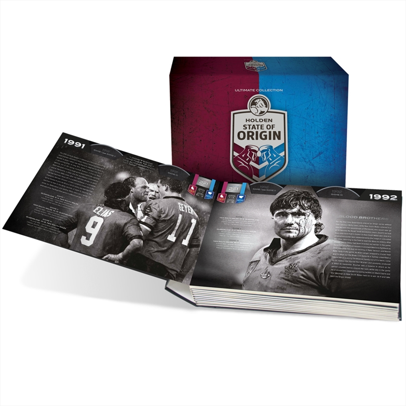 NRL - State Of Origin - Ultimate Collection - Limited Edition | DVD