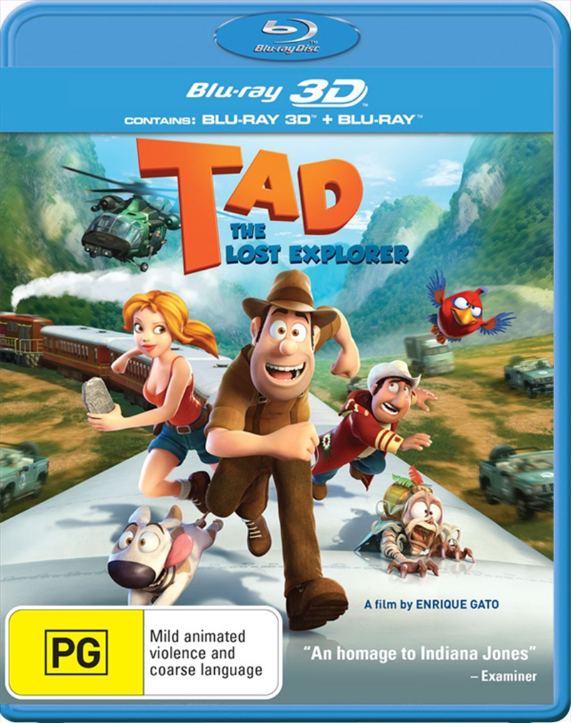 Tad The Lost Explorer 3D | Blu-ray 3D