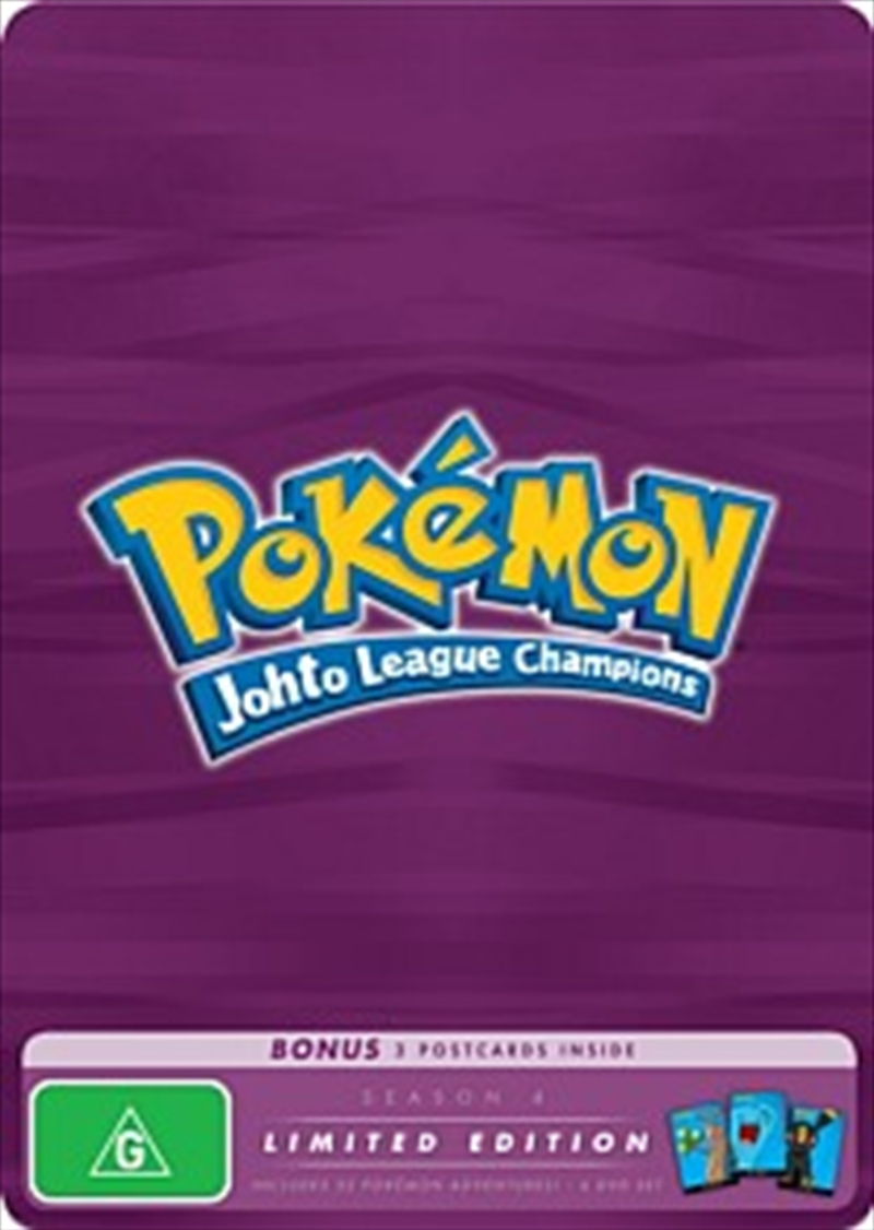 Pokemon; S4 - Johto League Champions: Limited Edition | DVD