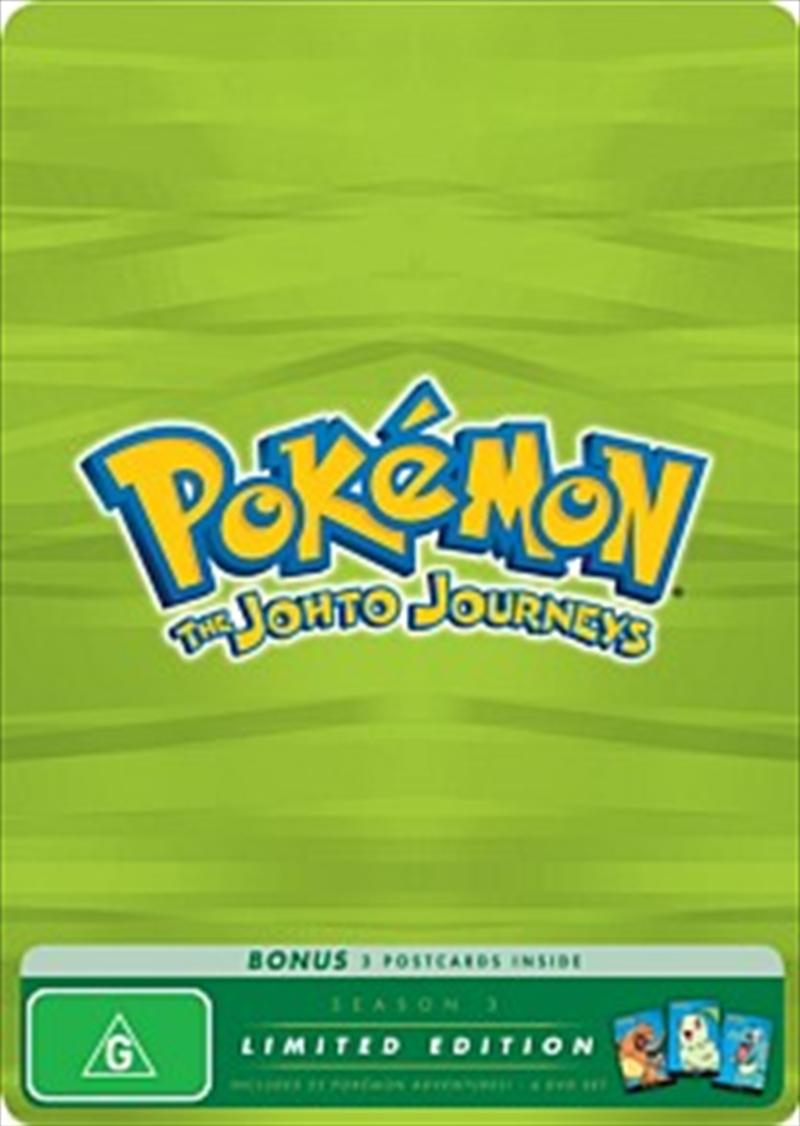 Pokemon; S3 - The Johto Journeys: Limited Edition   DVD
