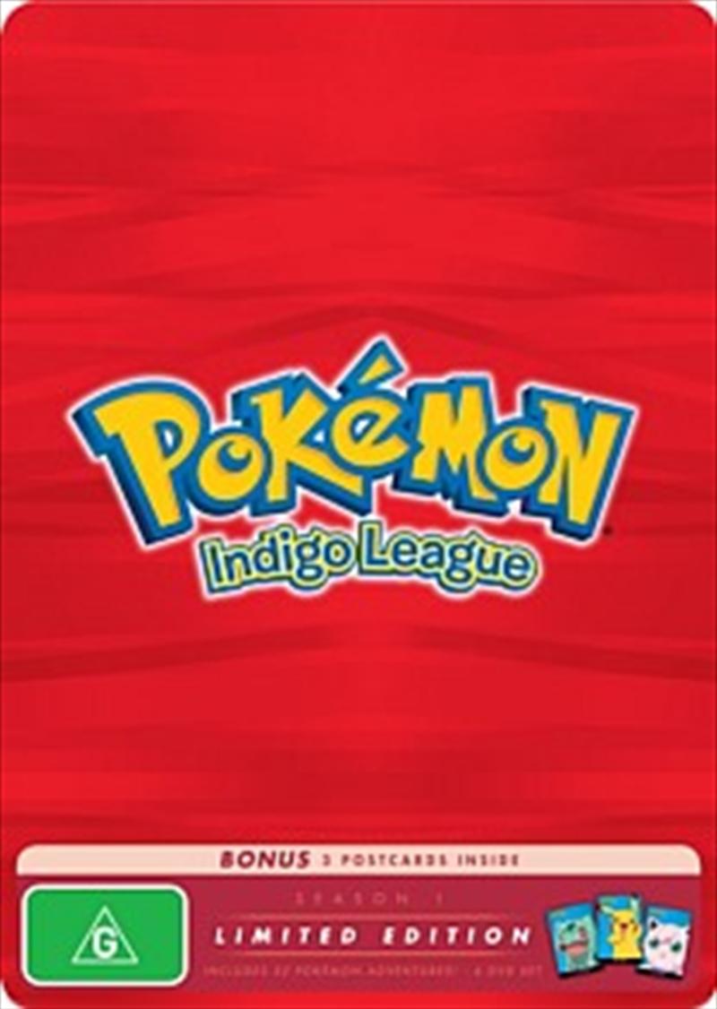 Pokemon; S1 - Indigo League: Limited Edition | DVD