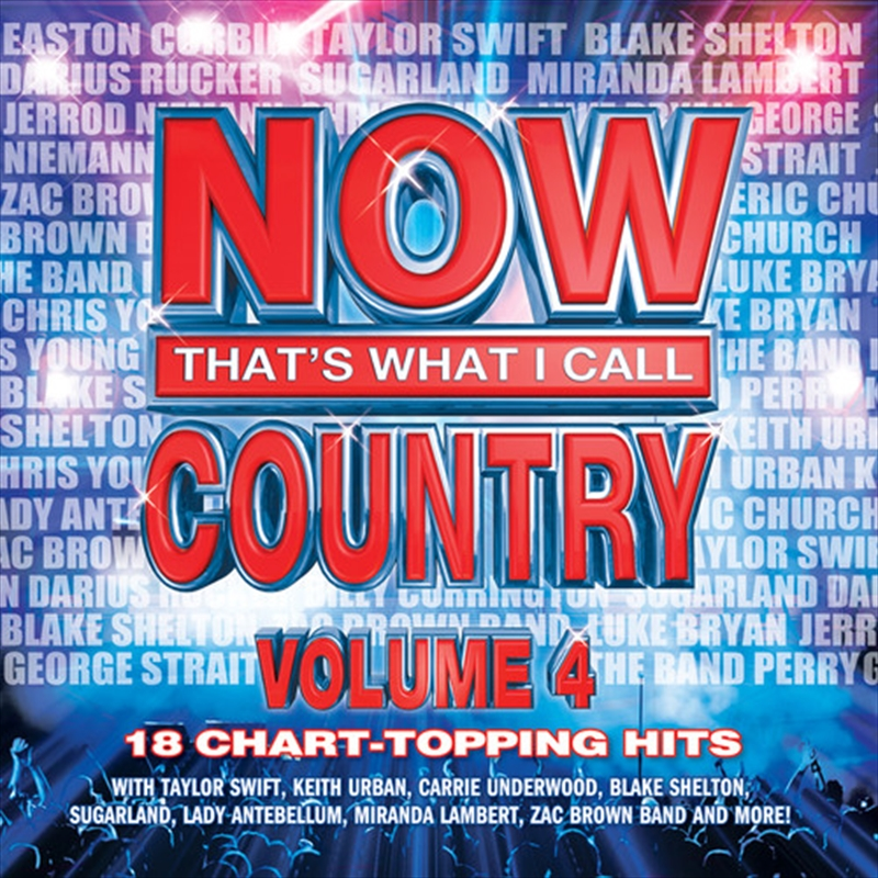 Now: Thats What I Call Country Vol 4   CD