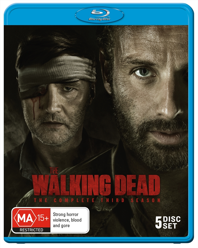 Walking Dead; S3 (EXCLUSIVE ARTWORK) | Blu-ray