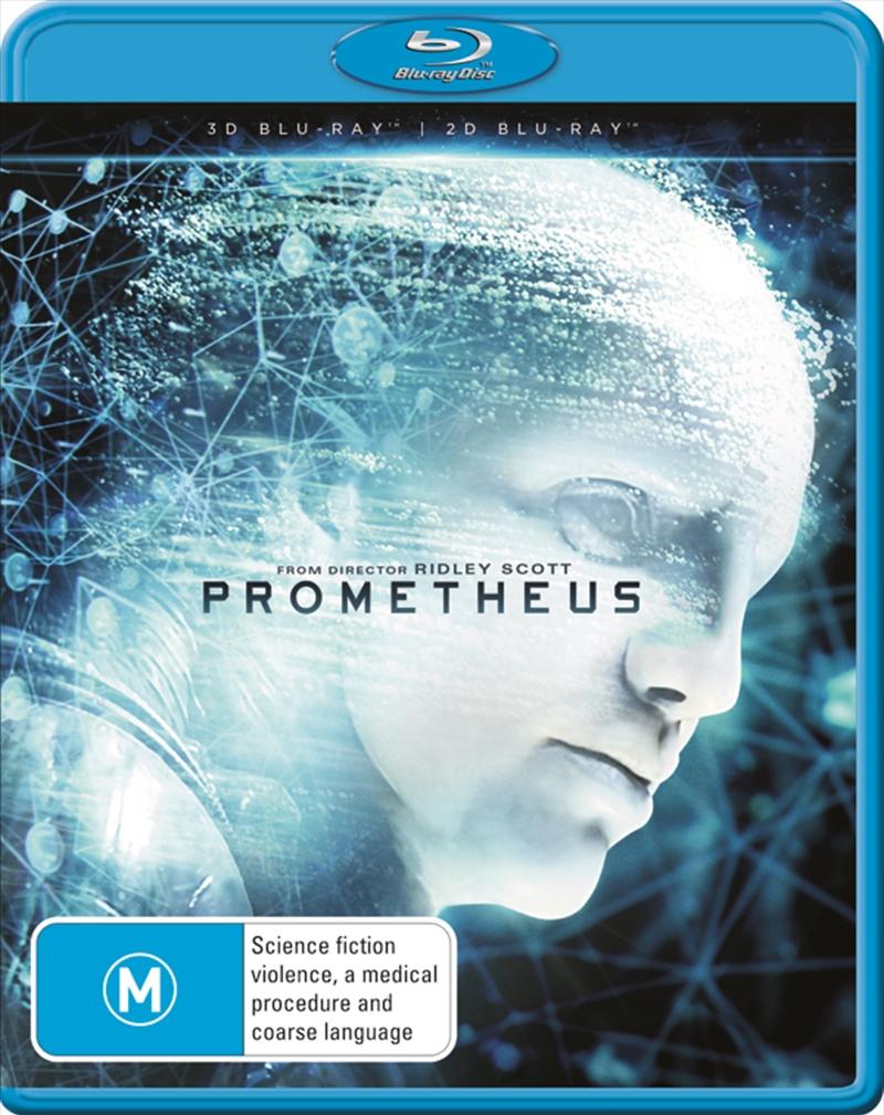 Prometheus 3D | Blu-ray 3D