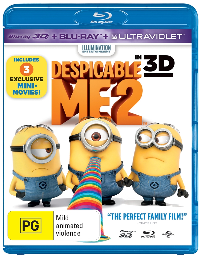 Despicable Me 2 3D | Blu-ray 3D