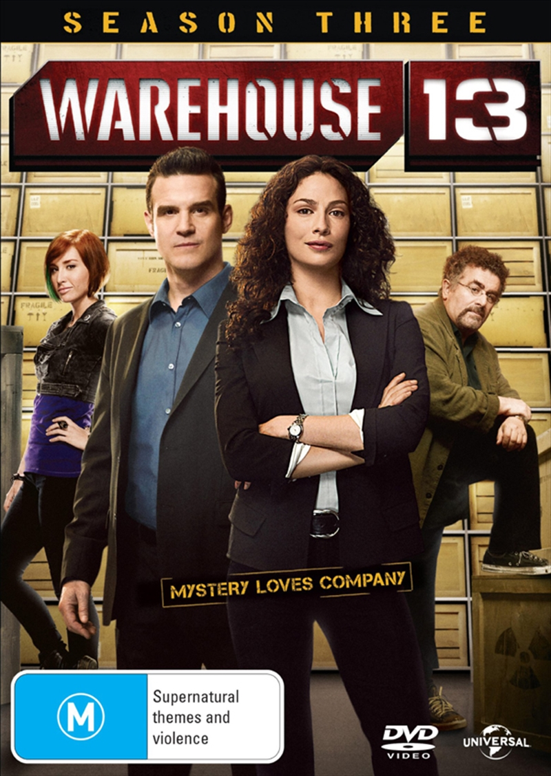 Warehouse 13 - Season 3 | DVD
