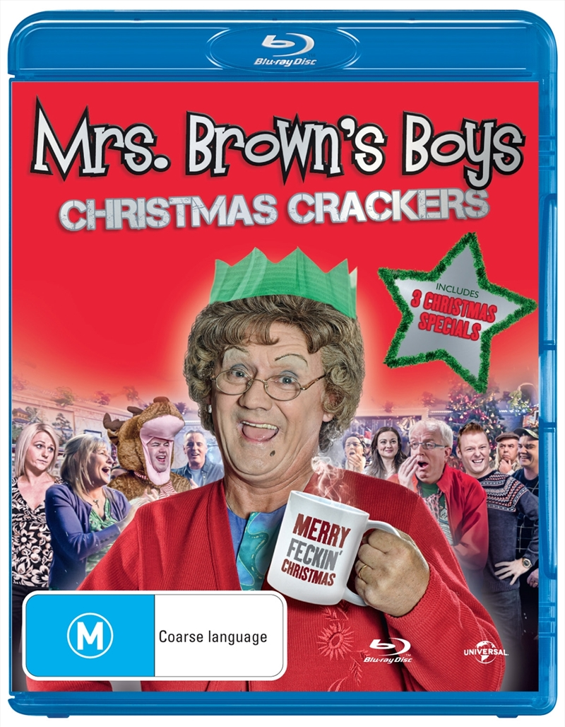 Mrs Brown's Boys; Christmas Crackers | Blu-ray
