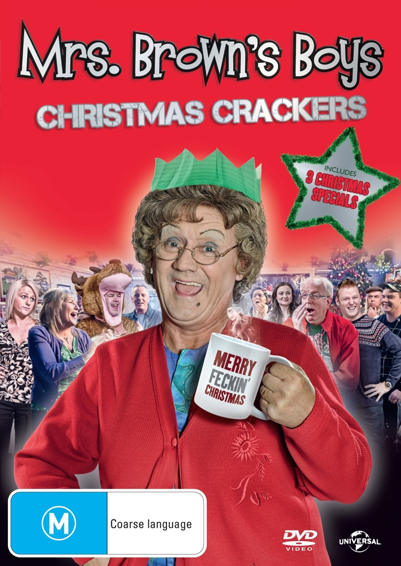 Mrs Brown's Boys Christmas Crackers | DVD