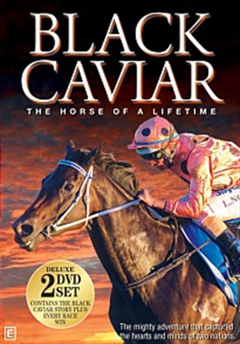 Black Caviar: Horse Of A Lifetime   DVD