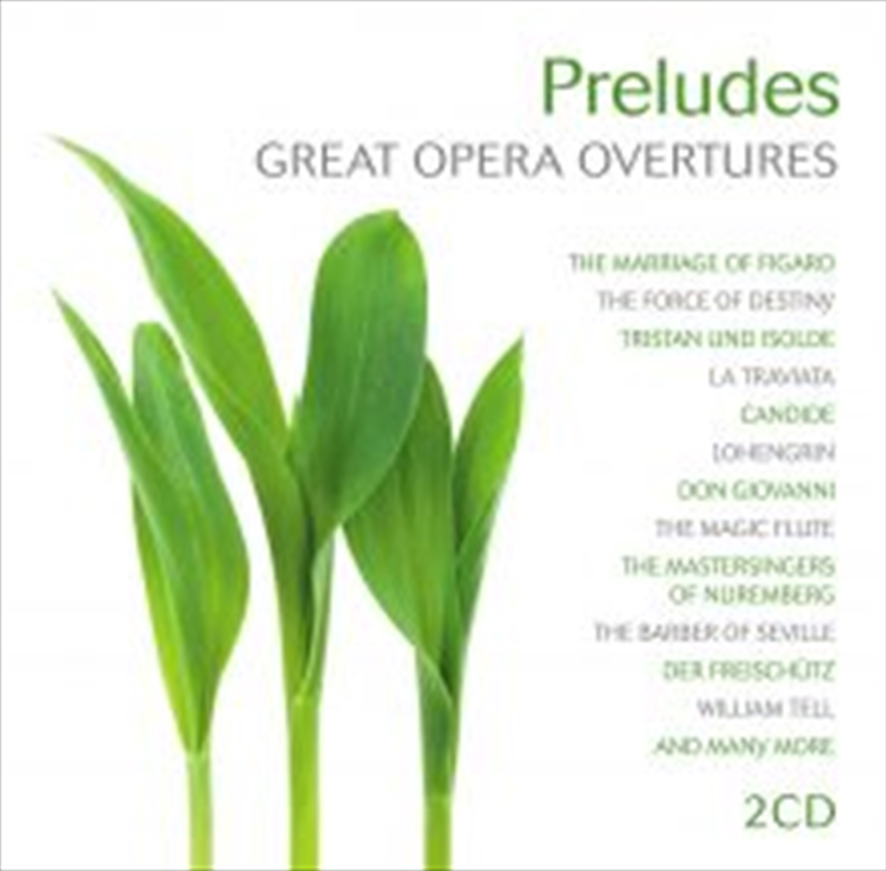 Preludes: Great Opera Overtures | CD