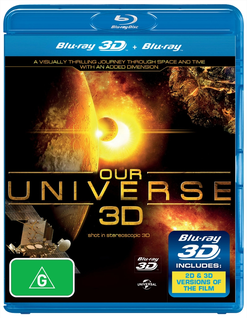Our Universe 3D | Blu-ray 3D