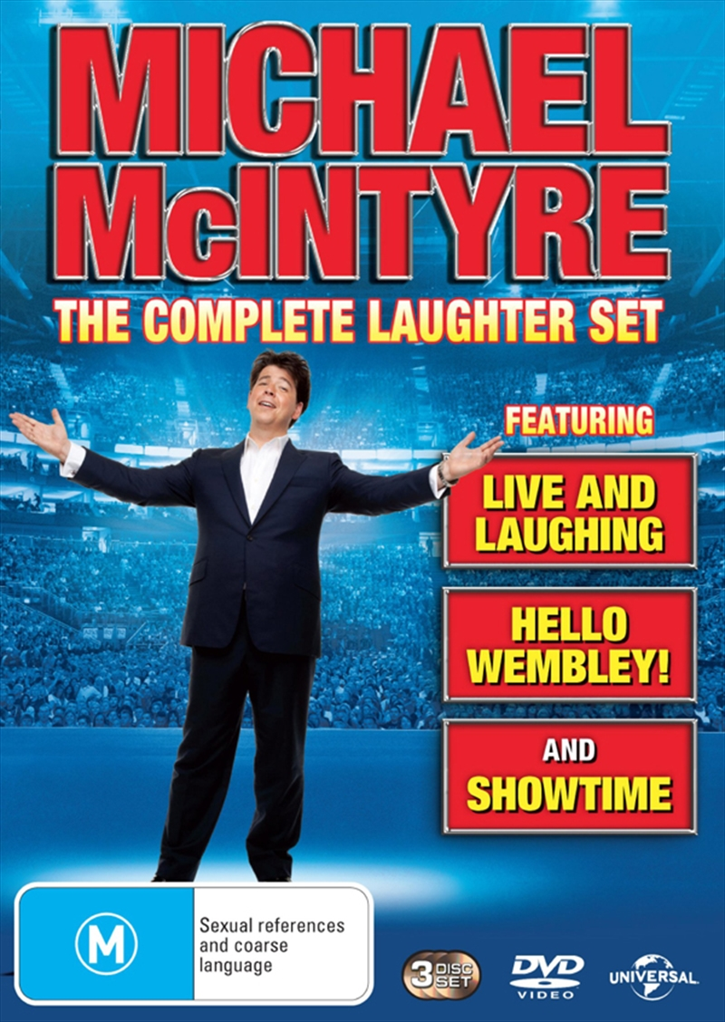 Michael McIntyre: Complete Laughter Set | DVD