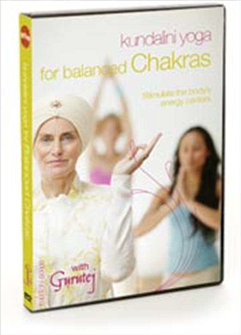 Kundalini Yoga For Balanced Chakras | DVD