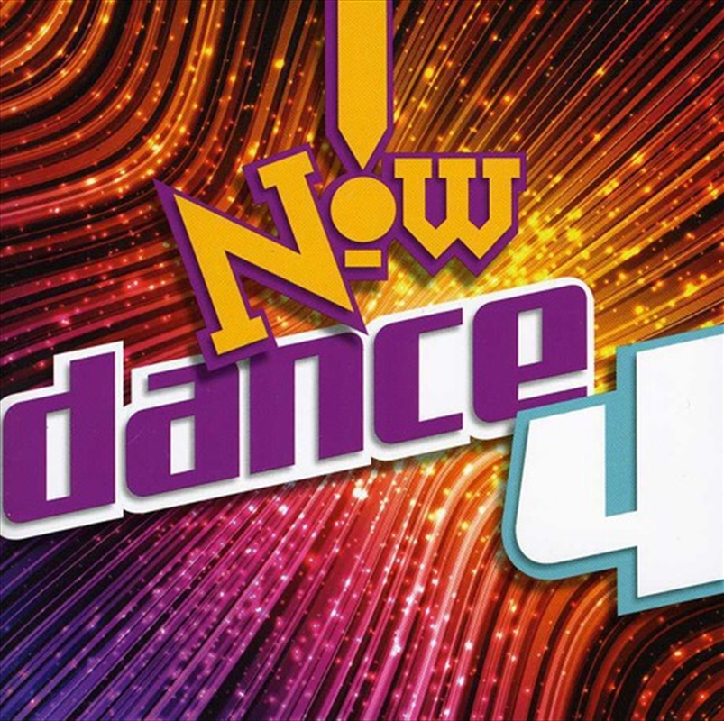 Now Dance Vol 4 Compilation Cd Sanity